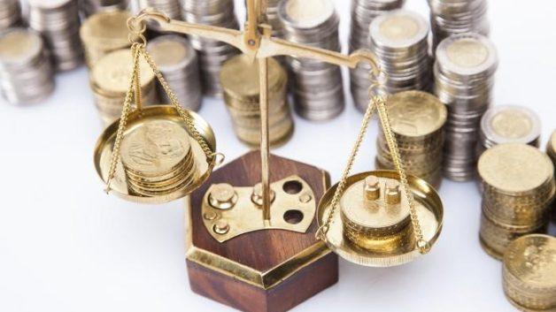 Расчет удельного веса доходов